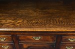George III Oak Dresser Base