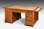Eighteen Drawer Partners Desk