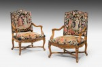 A Fine Pair of Régence Style Fauteuil/Armchairs image 1