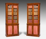 Antique, Pair of Library Bookcases ~ SOLD