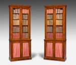 Antique, Pair of Library Bookcases image 1