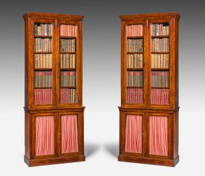 Antique, Pair of Library Bookcases