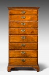 Rare, Antique Tall Dressing Chest ~ SOLD