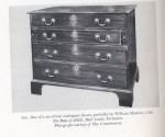 George III Dressing Chest