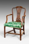 George III Chippendale Design Armchair image 1