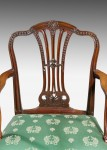 George III Chippendale Design Armchair