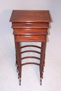 George III Nest of Four Tables