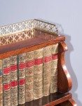 A Fine Antique Waterfall Bookcase image 3