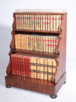 A Fine Antique Waterfall Bookcase ~ SOLD