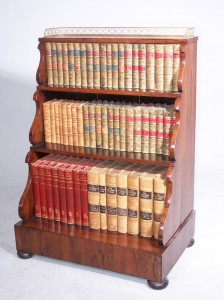 A Fine Antique Waterfall Bookcase