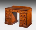 Antique, Small Pedestal Desk ~ SOLD