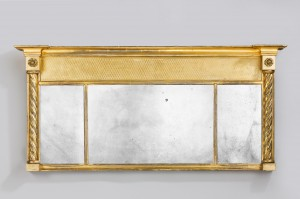 Regency Overmantel Gilt Mirror