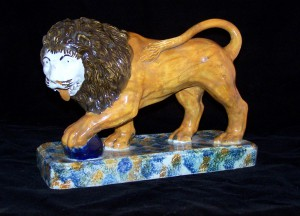 Prattware Model of a Lion