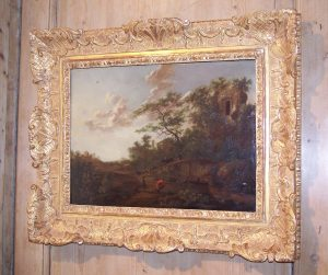 Oil Painting in Giltwood Frame