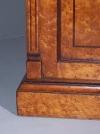 Antique Pair of Birds Eye Maple Bedside Cabinets image 3