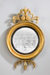 Regency Convex Gilt Mirror ~ SOLD