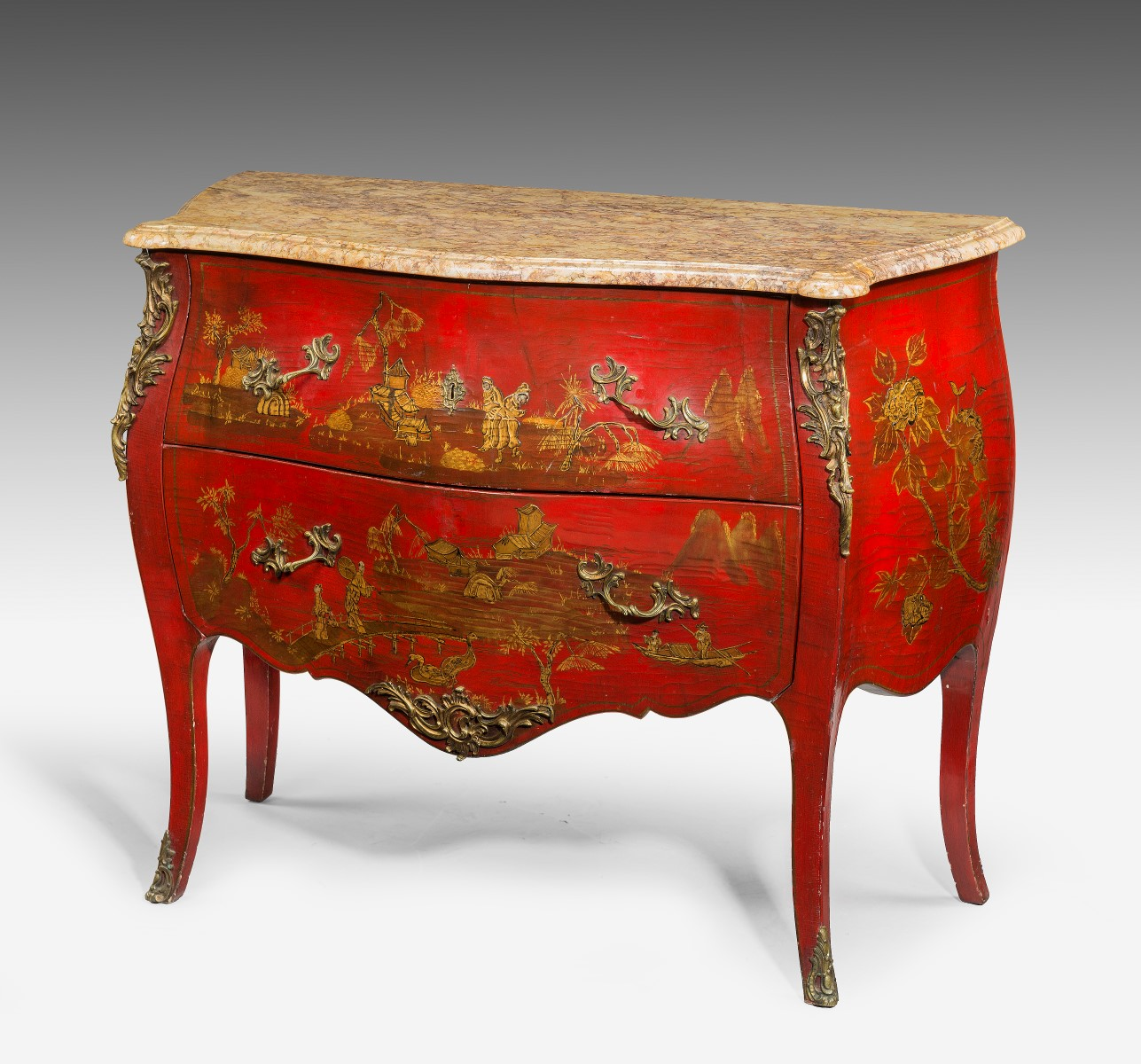 Antique Chinese Louis Xv Style Commode Summers Davis
