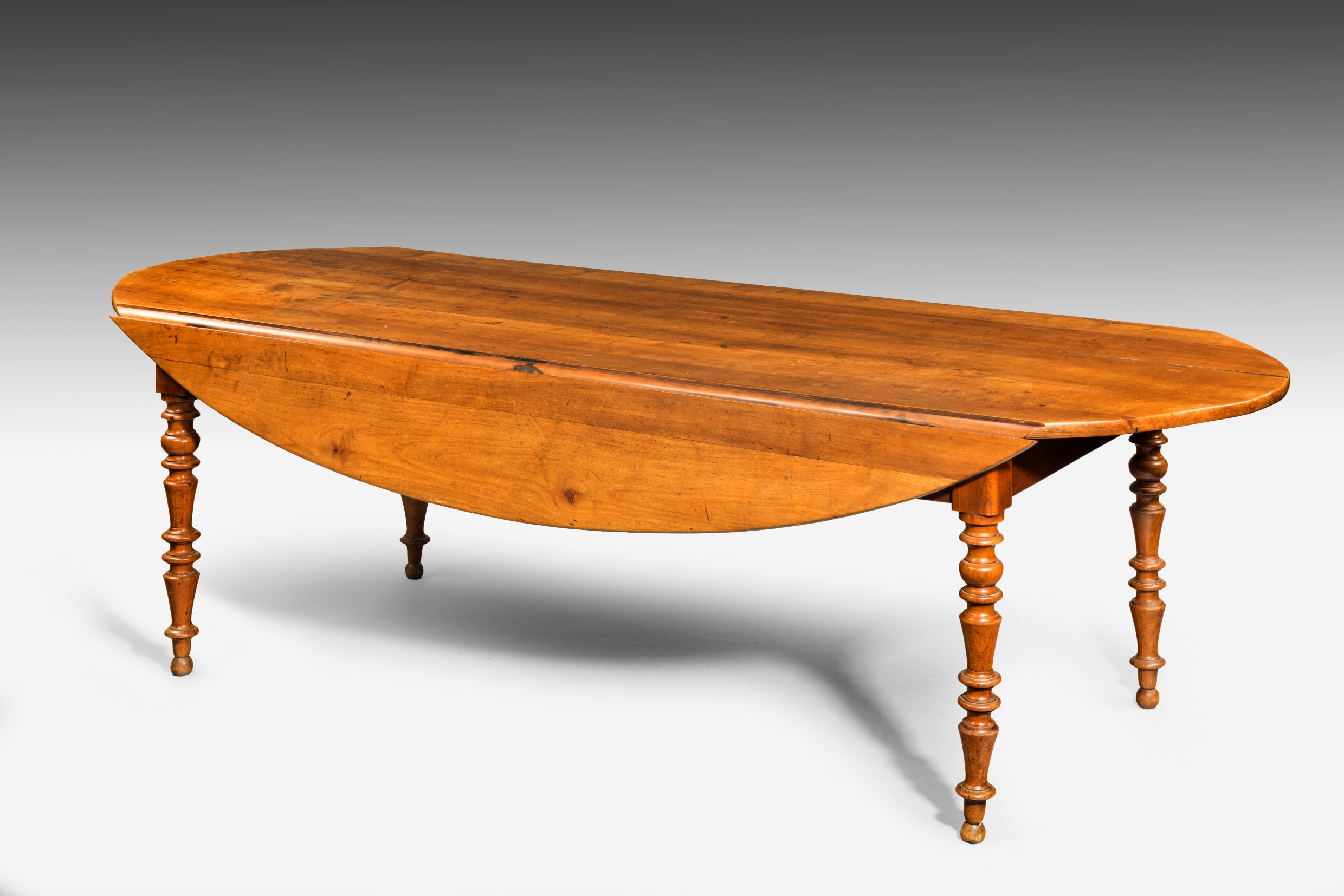 Antique French Oval Farm Table Summers Davis Antiques & Interiors