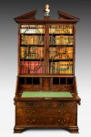Antique, Walnut Bureau Bookcase
