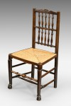 Antique Harlequin Set of Eight Chairs image 2