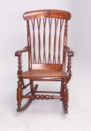 Antique Unusual Rocking Chair ~ SOLD