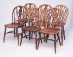 Harlequin Set of Windsor Chairs ~ SOLD