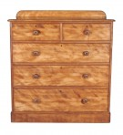 Antique Satin Birch Chest of Drawers ~ SOLD