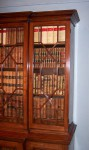 Antique Small Breakfront Bookcase image 2