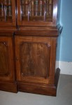 Antique Small Breakfront Bookcase image 3