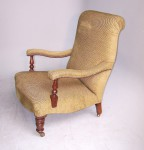 Antique Pair of Library Armchairs image 2
