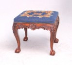 George III Square Foot Stool ~ SOLD
