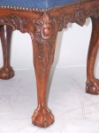 George III Square Foot Stool