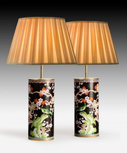 Pair of Chinese Vases now Lamps