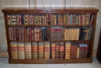 Mahogany Open Bookcase ~ SOLD