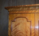 Antique Satinbirch Wardrobe