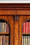 Antique Mahogany Breakfront Bookcase image 2