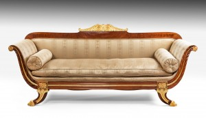 Antique Regency Settee/Sofa