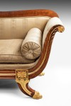 Antique Regency Settee/Sofa image 4