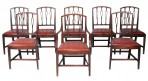 Set of George III Dining Chairs