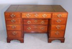 Rare George II Kneehole Library Desk ~ SOLD