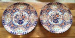 Pair of Large Imari Plates ~ SOLD