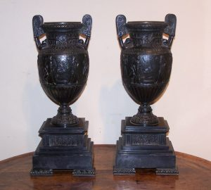 A Pair of 19th Century Townley Vases