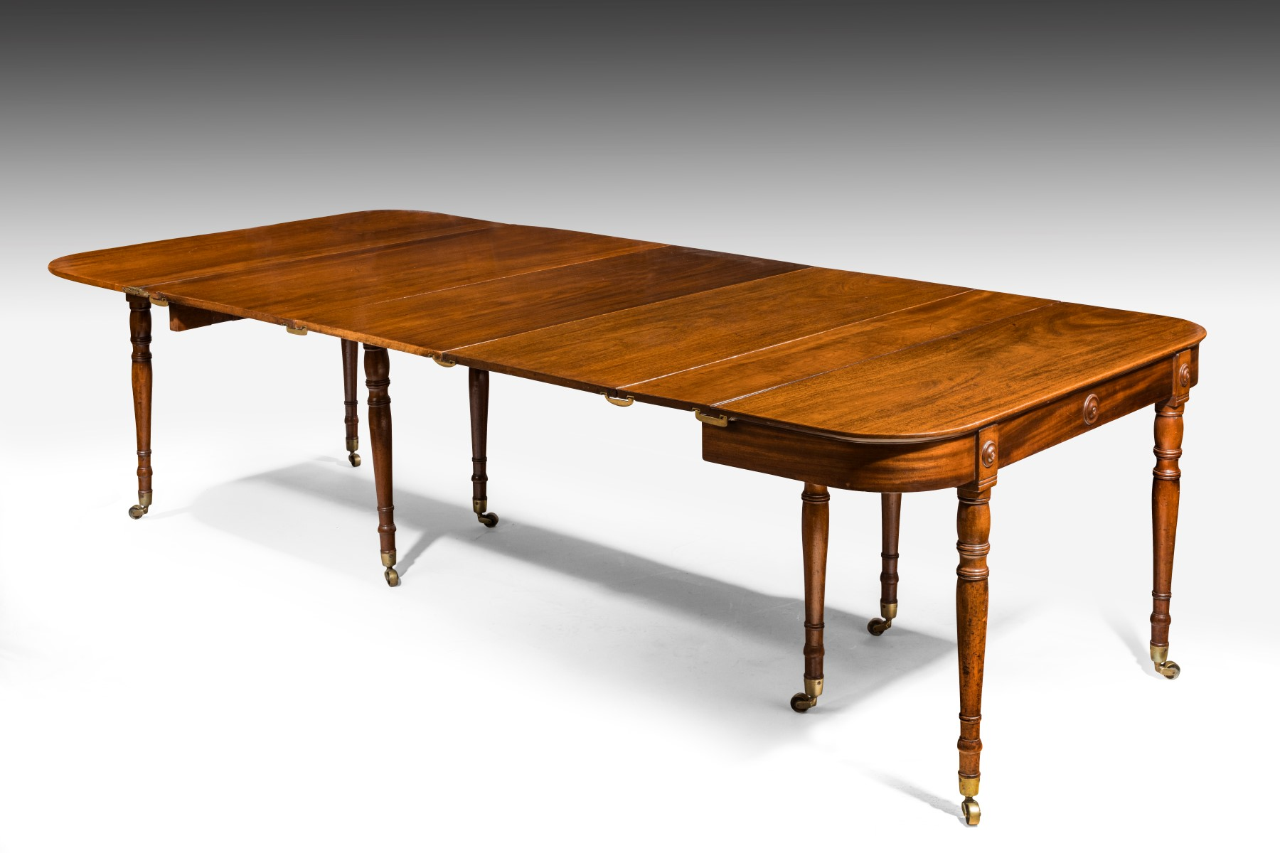 Regency Extending Dining Table Summers Davis Antiques Interiors