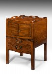 Chippendale Design Pot Cupboard
