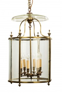 Large George III Hanging Lantern