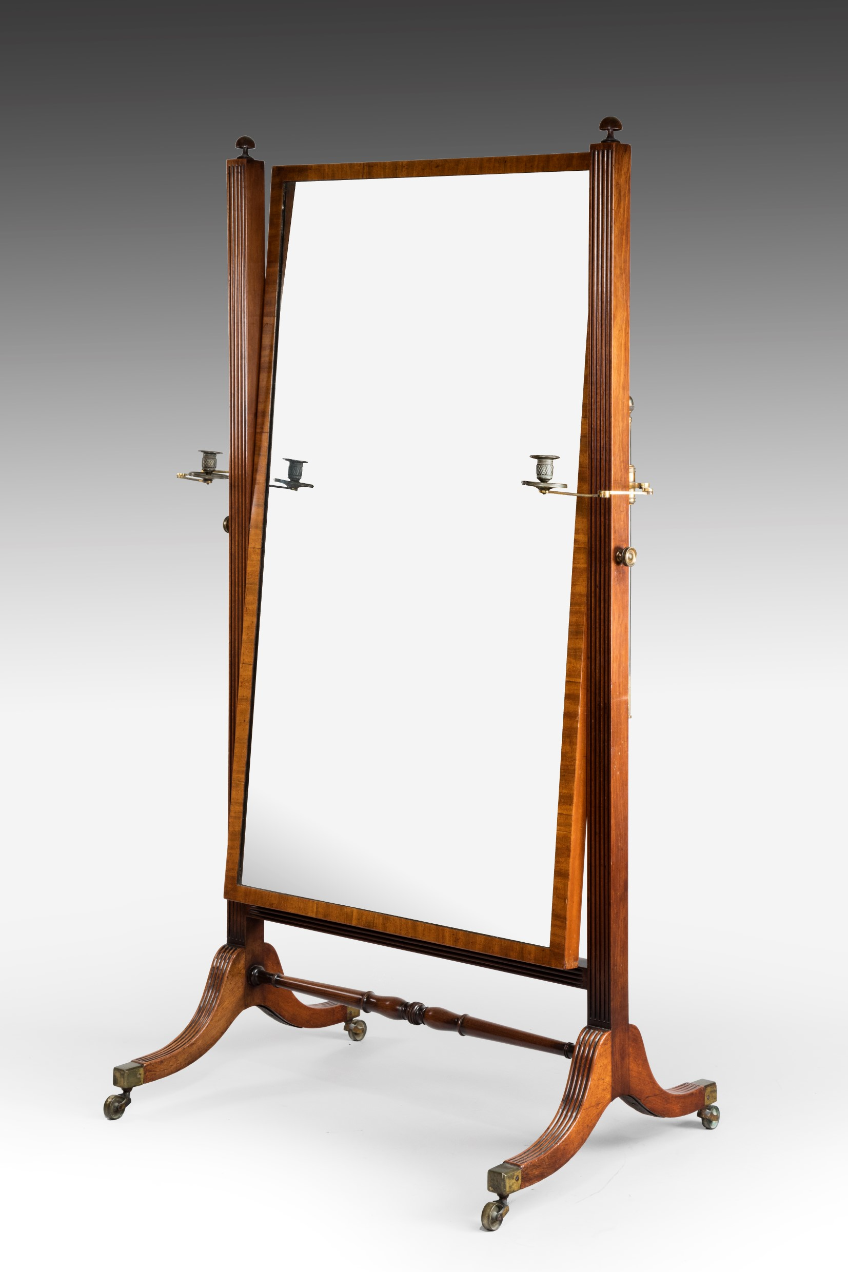 Regency cheval mirror summers davis antiques interiors for Cheval mirror