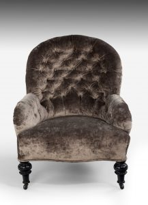Victorian Button Back Chair