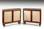 Antique Pair of Regency Cabinets ~ SOLD