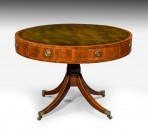 Antique George III Drum Table ~ SOLD