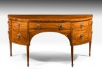 Antique Regency Demilune Sideboard